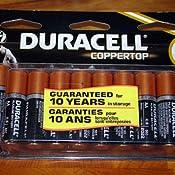 Amazon.com: Duracell CopperTop AA Alkaline Batteries, 20