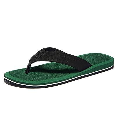 82e36dc82ce5e Image Unavailable. Image not available for. Color  Kateirmaso Summer  Fashion Men s Flip Flops ...