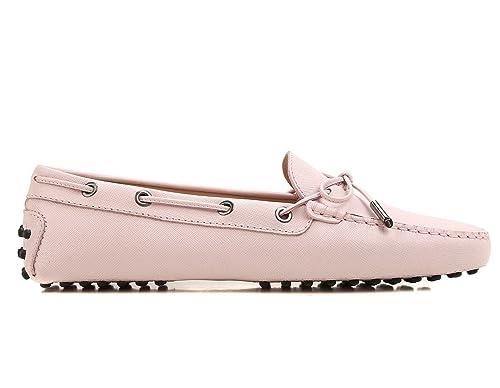 Tod's scarpe mocassini donna heaven n laccettoocchielli XXW0FW05030SFPM417 rosa