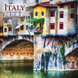 Italy 2019 7 x 7 Inch Monthly Mini Wall Calendar, Scenic Travel Europe Italian Venice Rome (Multilingual Edition)