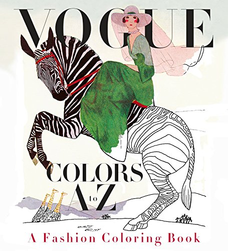 (Vogue Colors A to Z: A Fashion Coloring Book)