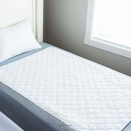 High Quality Linenspa 34u0026quot; X 52u0026quot; Non Skid Waterproof Sheet Protector With  Highly Absorbent Fill Layer