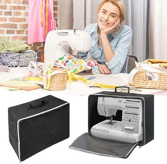 omufipw bolsa de máquina de coser plegable 600d lona cubierta de ...