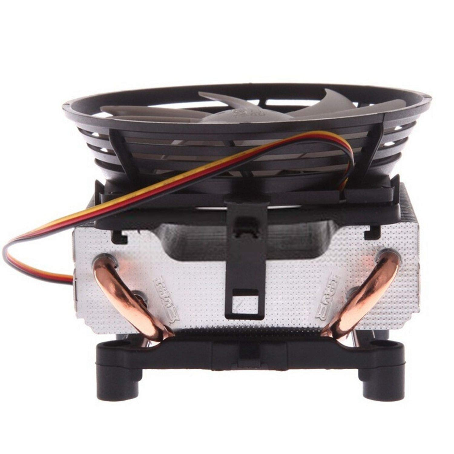 YOUKITTY PCCOOLER Seven-spot Ladybug V4 CPU Radiator Full Copper 2 Heat Pipe for AMD//Intel CPU Silent Fan