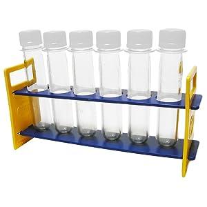 Steve Spangler's Baby Soda Bottle Rack, Test Tube Rack, 5 Racks