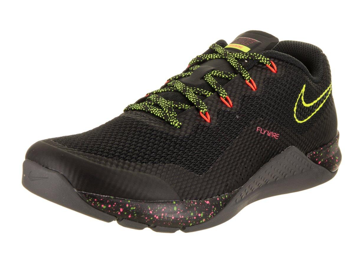 85c986d4687a1 Galleon - Nike Men s Metcon Repper DSX Black Volt Hyper Crimson Training  Shoe 8.5 Men US