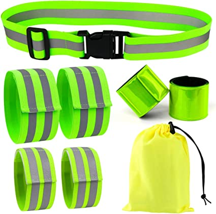 HORSE CYCLIST HI VIS SAFETY BAND STRAP CHILDREN KIDS WALKING DUSK