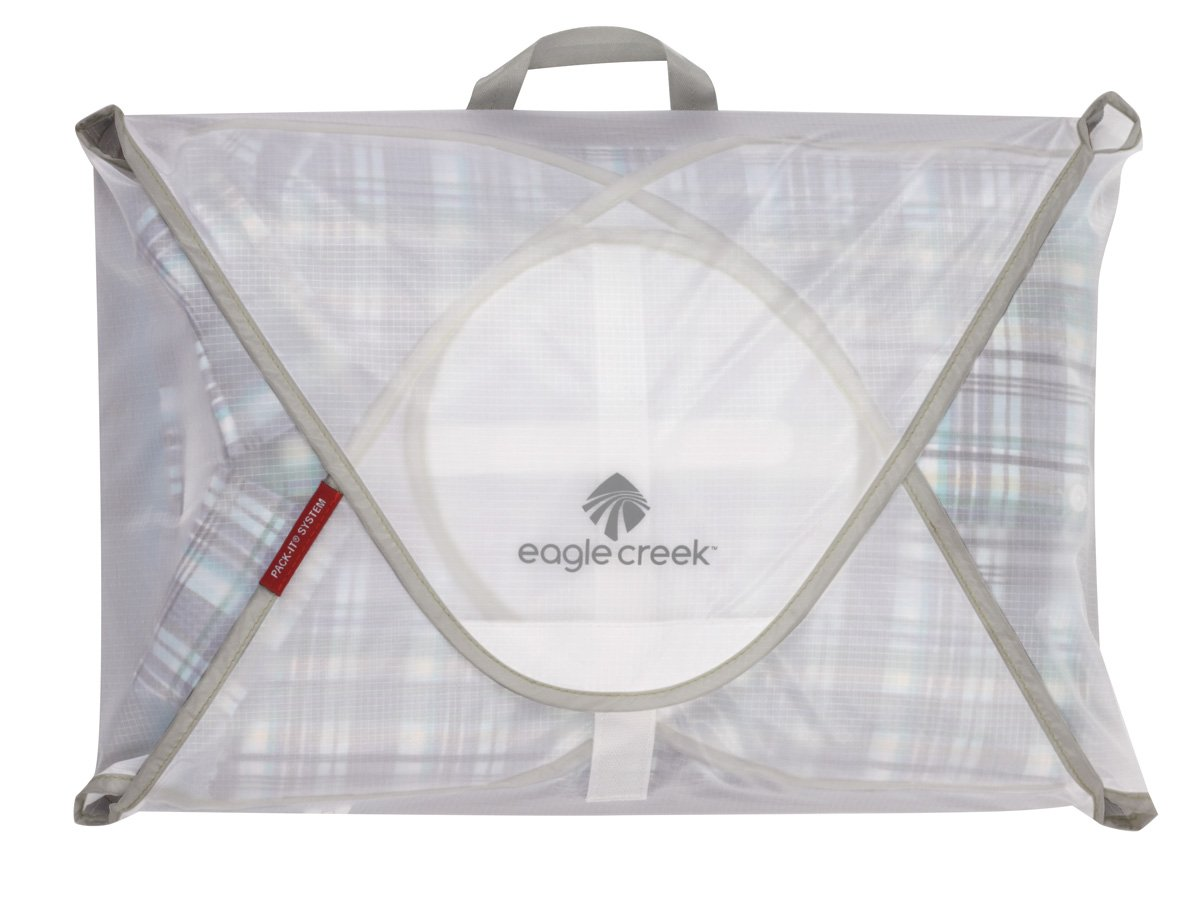 Eagle Creek Pack-It Specter Garment Folder Packing Organizer, White/Strobe (M) by Eagle Creek