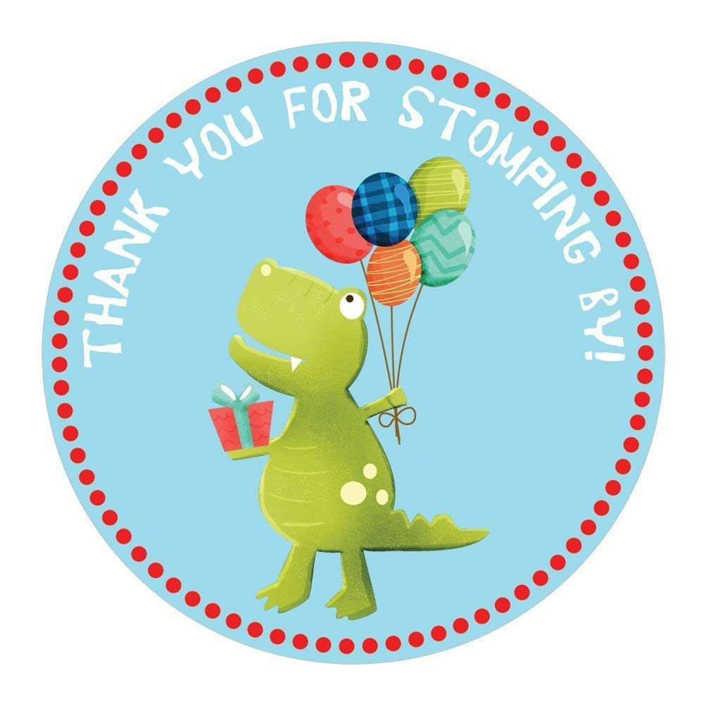 birthday stickers wall stickers party invitation stickers Cute dinosaur stickers 0.2 inch purple planner stickers envelope seals