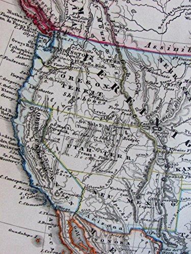 Territorial United States transitional North America 1860 von Stulpnagel old - Still Life Transitional