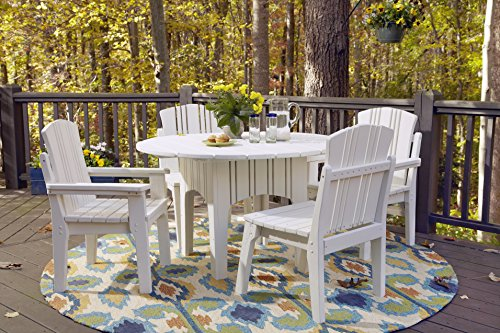 Uwharrie Round Table (Uwharrie Chair Co Carolina Preserves Round Dining Table, 48