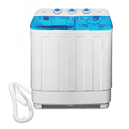 Bismi Portable Compact Washer U0026 Spin Dry Cycle For 10 12 Lbs With Built