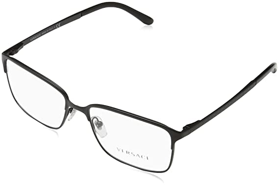 aa5d8fca69 Amazon.com  Versace VE1232 Eyeglass Frames 1261-54 - Matte Black ...