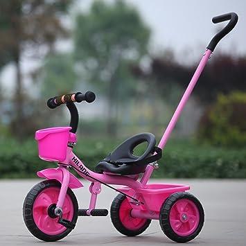 sheng El triciclo de los niños puede empujar el carro del ...