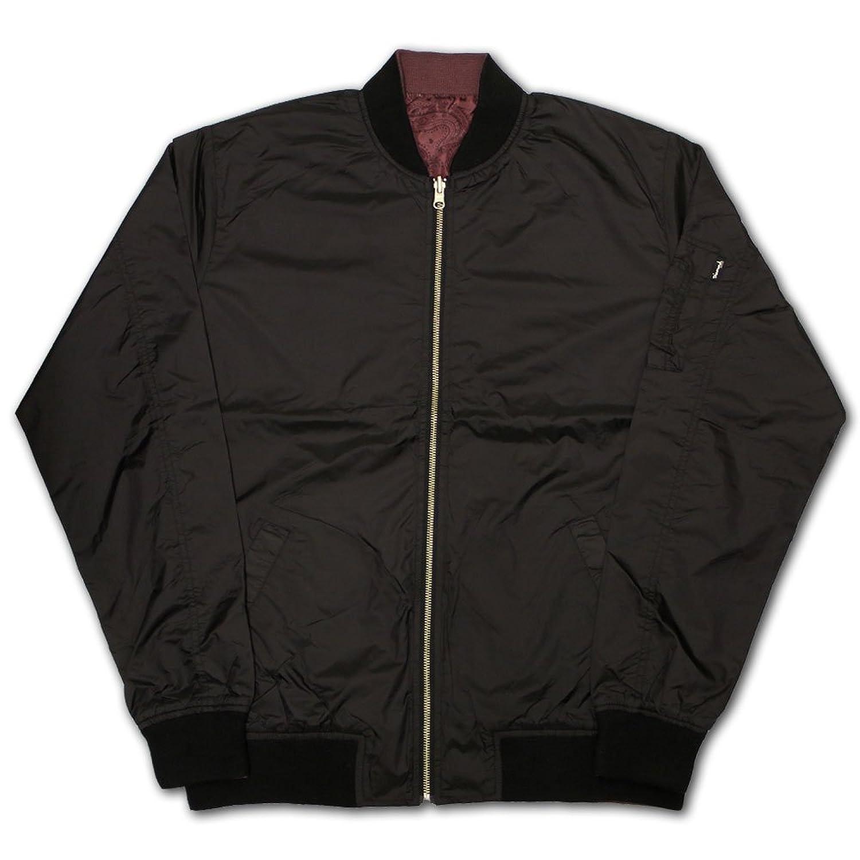 Diamond Supply Co Radiant Reverse Bomber Jacket Black