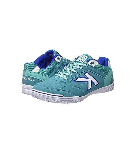 Kelme Precision, Zapatillas Unisex Adulto, Azul (Aqua 460), 46 EU: Amazon.es: Zapatos y complementos
