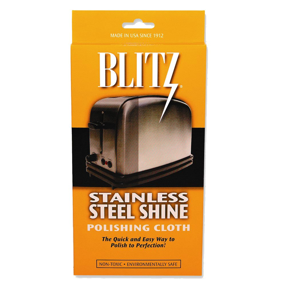 amazoncom blitz stainless steel shine polishing cloth health u0026 personal care