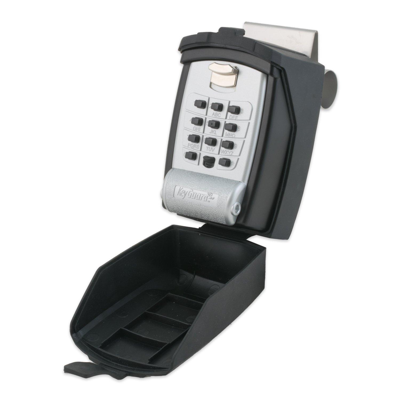 KeyGuard SL-591-CVR Pro Car Window Key Safe with Protective Cover - 4 Pack by KeyGuard
