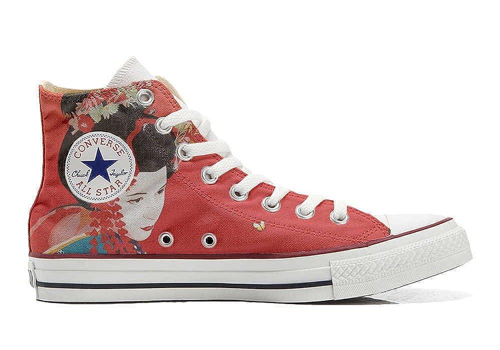 Converse All Star personalisierte Schuhe Schuhe Schuhe (Handwerk Produkt) Geisha 2 7957af
