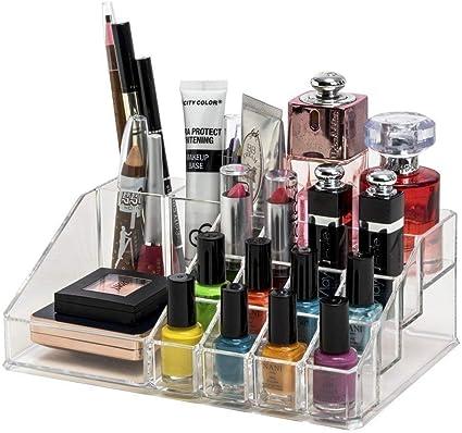 ALWAFLI Acrylic Makeup Cosmetic Organizer