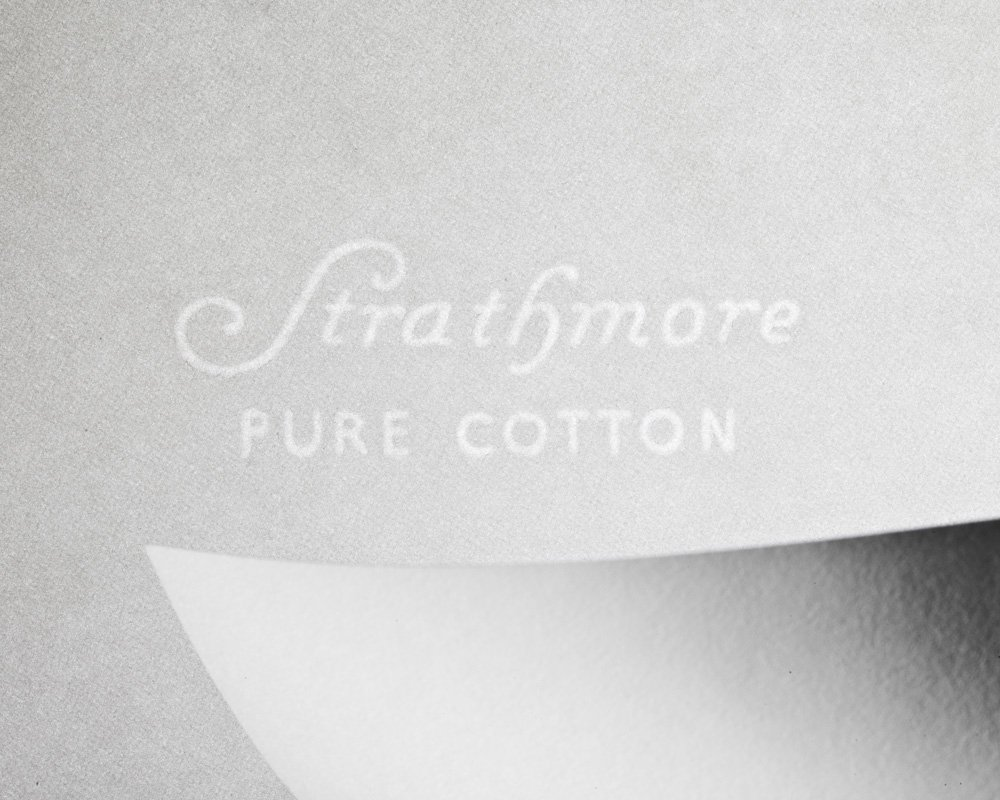 Strathmore 318003 100% Pure Cotton Business Stationery, 24lb, 8 1/2 x 11, Ult White, 500 Sheets by Mohawk Home (Image #2)