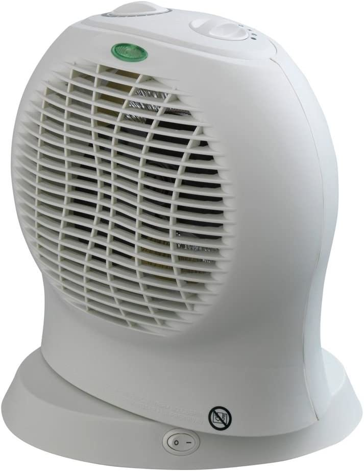 Challenge Ceramic Fan Heater. Free gift