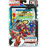 Spider-Man and Captain Britain Marvel Universe Comic Book Action Figure 2 Pack