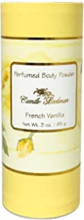 product image for Camille Beckman Perfumed Body Powder, French Vanilla, 3 Ounce