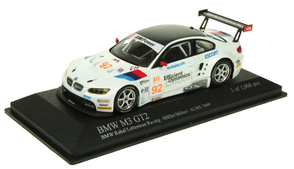 Minichamps – 400092992 – Fahrzeug Miniatur – BMW M3 GT2 – ALMS 2009 – Echelle 1: 43