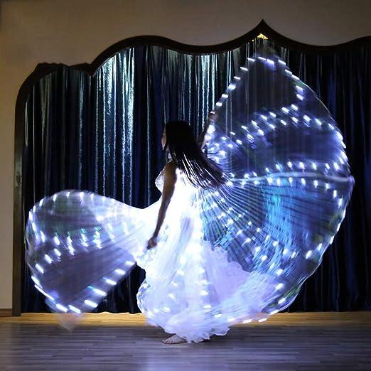 Alas ISIS LED, Traje De Danza del Vientre De Ballet, Flash ...