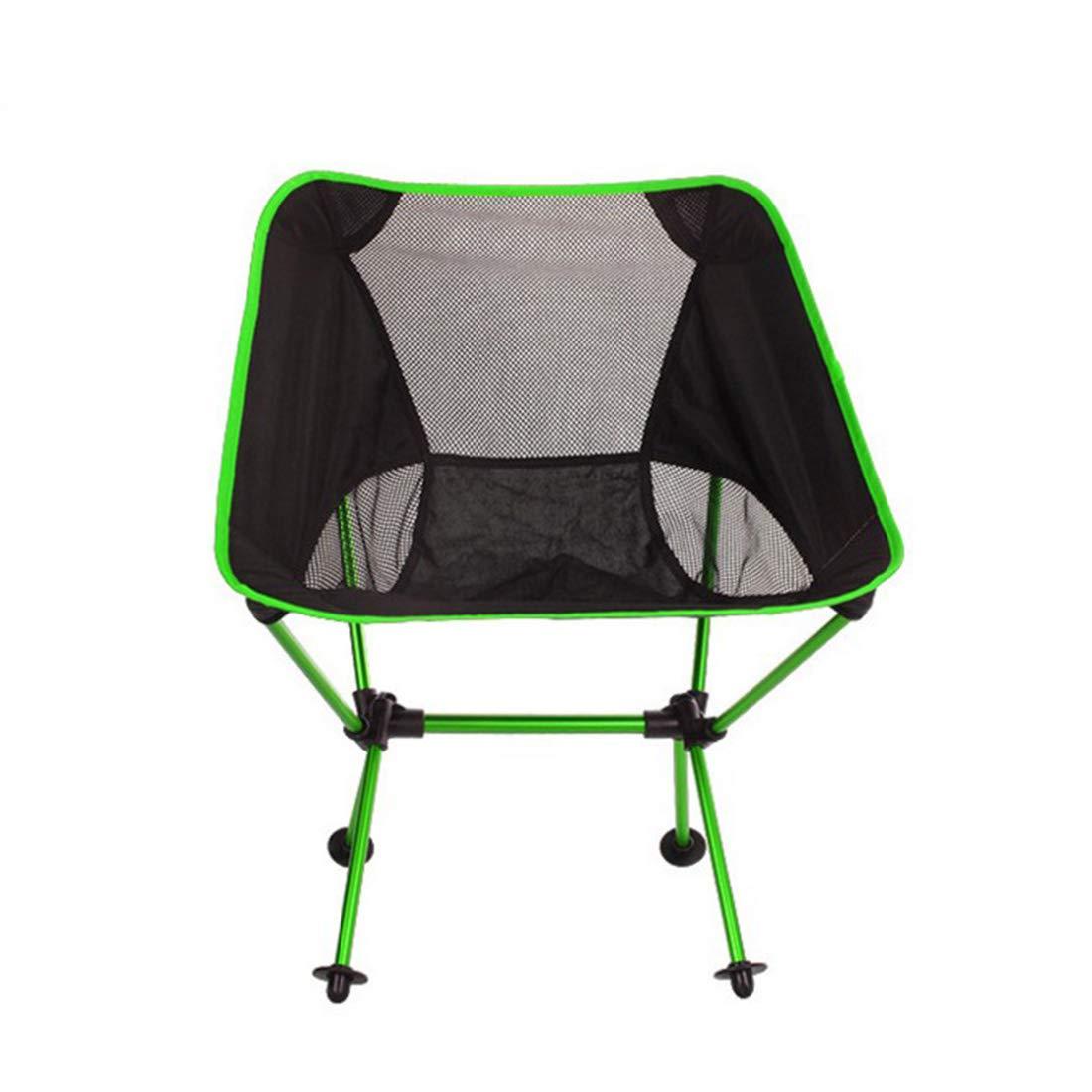 vert  UICICI Chaise de pêche pliante pratique (Couleur   Orange)
