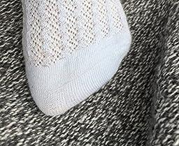 GUANGRUIDA Baby Girl stocking Summer Mesh Breathable Thin Bowknot Baby Socks(6 pairs)