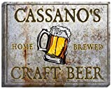 "CASSANO'S Craft Beer Stretched Canvas Sign - 24"" x 30"" offers"