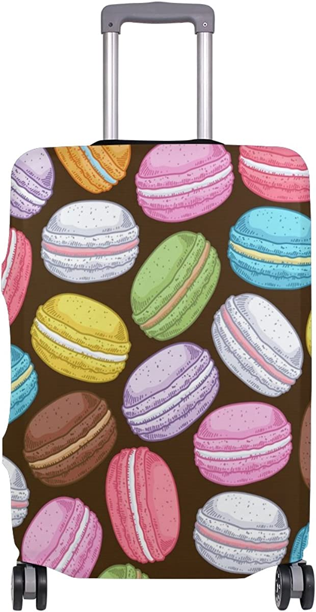 GIOVANIOR Colorful Cakes Luggage Cover Suitcase Protector Carry On Covers