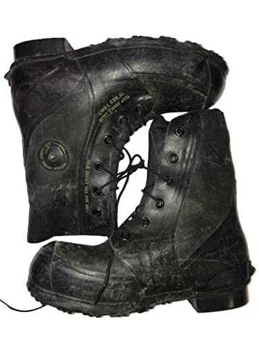 17c519d2d96 Combat Boot,Mickey Mouse Extreme Cold Weather Boots, Waterproof Rubber,  Genuine US Military Issue New Slightly Scuffed