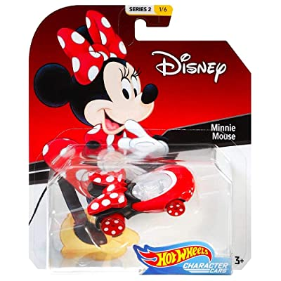 Hot Wheels HW Minnie Mouse Character Cars Diecast Car 1:64 Scale: Toys & Games