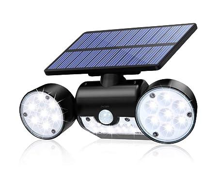 CINOTON Outdoor Solar Security Lights