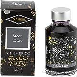 Diamine Fountain Pen Bottled Ink, 50ml - Shimmering Moon Dust