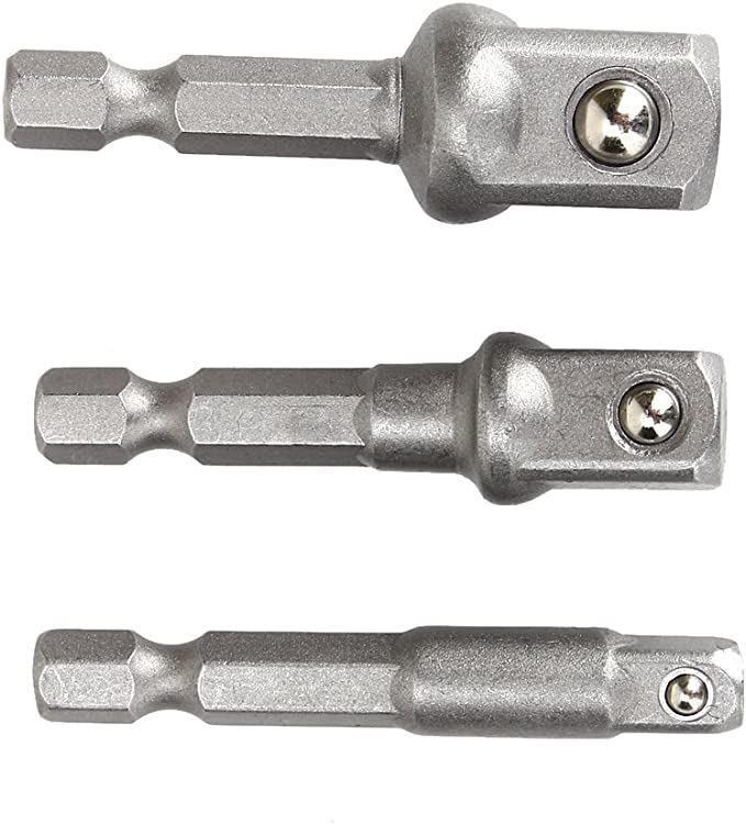 HSS Universal wrench 3//8 square head(7-19MM)ratchet socket bit adapter