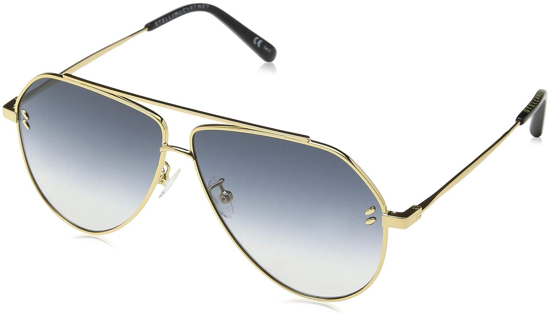 Stella McCartney SC0063S 004 Gafas de Sol, Dorado (004-Gold ...