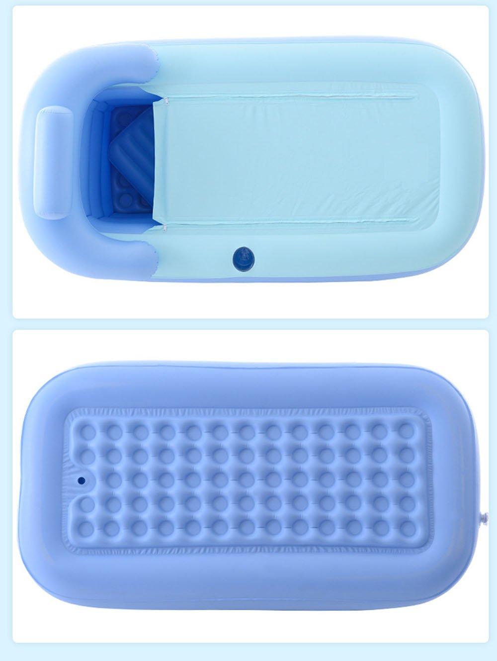 KiHomy SPA Inflatable Bath Tub, Adult Plastic Portable Adult Bathtub ...