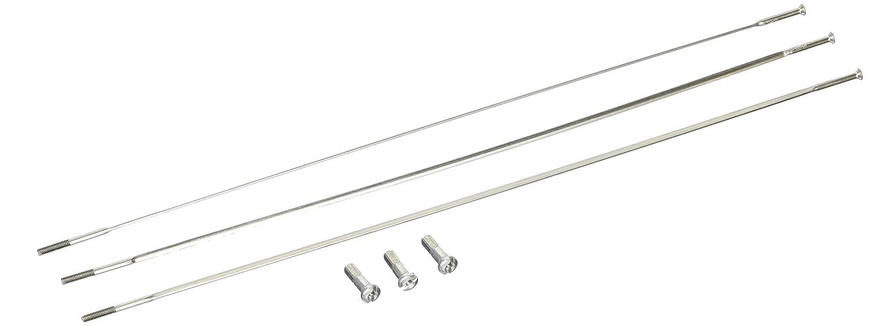 Zipp Straight Pull Spoke CXRay 196mm Silver Bag//3