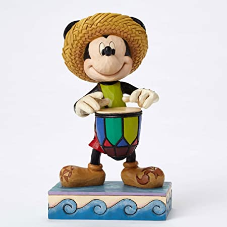Enesco Disney Traditions by Jim Shore Island Mickey Stone Resin Figurine