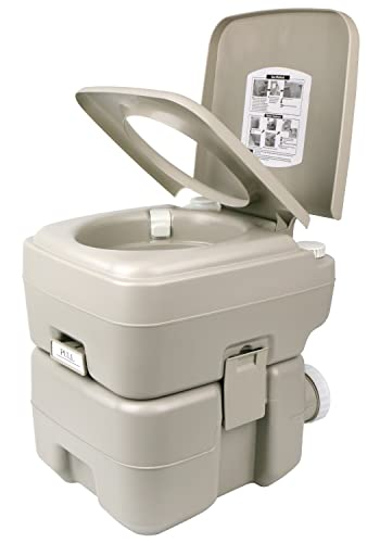 Leopard Outdoor T-Type Portable Travel Toilet For Camping