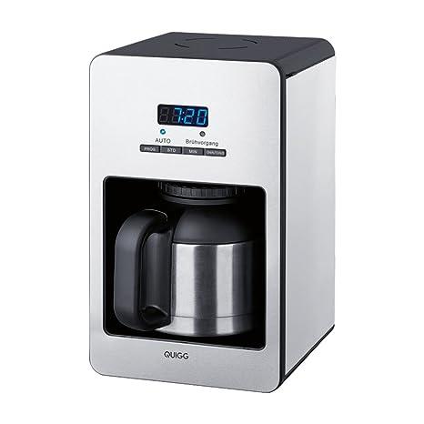 Amazonde Kaffeemaschine Quigg GT TCM 03 Timer Thermoskanne 10Tassen 1000Watt LC Display