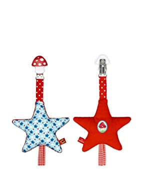 Amazon.es: Baby Charms Colgantes de bebé Niños Dare Clip Star para cochecito de bebé modelo de juguete, 18 cm, # 10471: Juguetes y juegos
