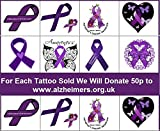 Alzheimer's Collection (Alzheimer's Temporary Tattoos)