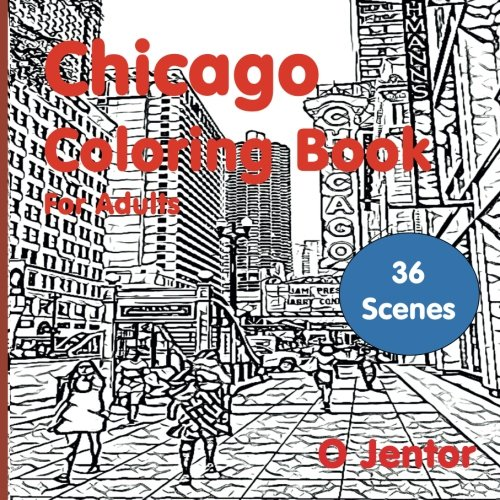 Top recommendation for chicago architecture coloring book