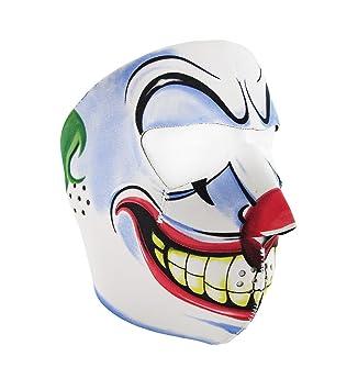 Joker Face máscara de neopreno motocicleta Balaclava