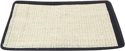 Yanhonin - Alfombra rascador para Gatos - Protección para sofá o Suelo de Pared de sisal y Lino - Adecuado para Gatos: Amazon.es: Productos para mascotas